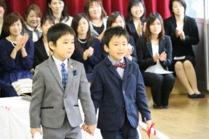 卒園式12