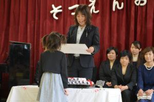 卒園式 01