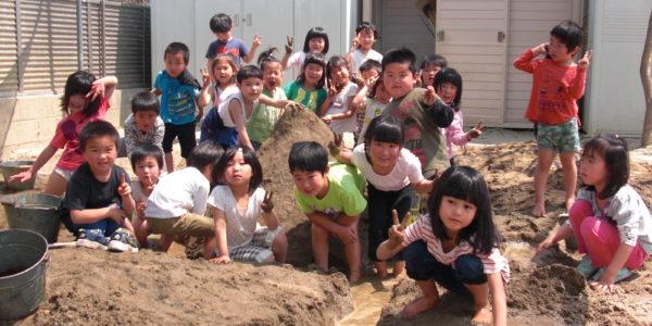 砂場遊び1